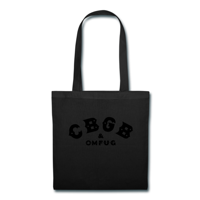 Black on Black (tote)