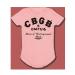 CBGB Baby Classic Logo Pink Onesie